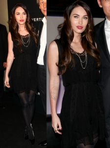 Megan Fox in Christian Dior LBD