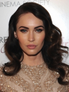 Megan Fox Retro Curls Hairstyle