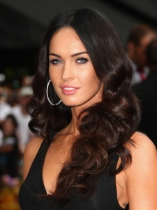 Megan Fox Full Curls Hairstyle