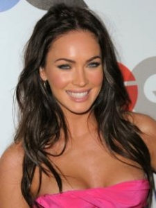 Megan Fox Long Layered Hairstyle
