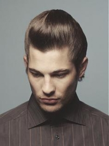 Backgroomed Hairstyle for Men