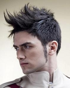 Guys Long Mohawk Hairstyle