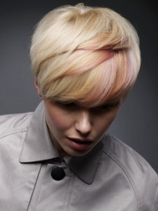 Lovely Pixie With Highlights
