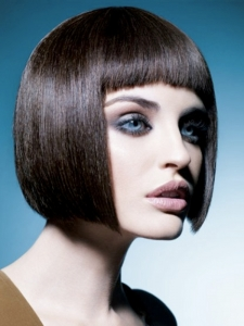 Medium Boxy Bob Hairstyle