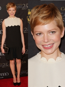 Michelle Williams in Victoria by Victoria Beckham