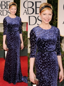 Michelle Williams in Jason Wu at 2012 Golden Globes