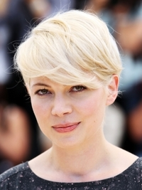 Michelle Williams New Short Blonde Hairstyle