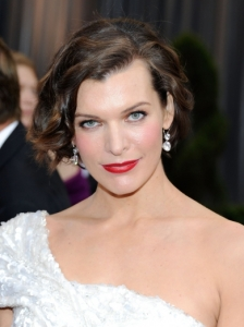 Milla Jovovich's Hairstyle from the 2012 Oscars