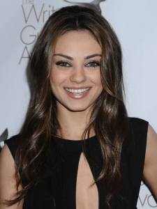 Mila Kunis Long Wavy Hairstyle