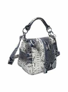 Snakeskin Mini Pouch Bag from Ashley M
