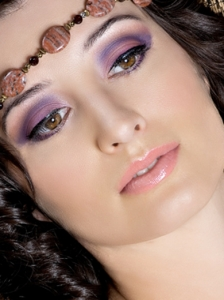Party Purple Eye Makeup