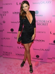 Miranda Kerr at the VS Show 2012 After Party