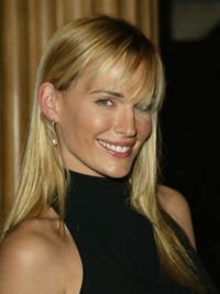 Molly Sims Long Straight Hair with Bangs