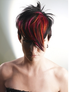 Cool Red Hair Highlights