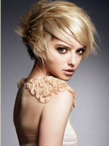 Choppy Layered Bob Hair Style