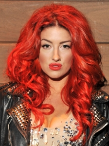 Neon Hitch Full Curls Hairstyle