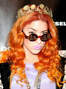 Neon Hitch Curly Hairstyle