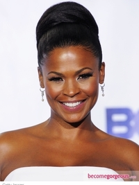 Nia Long Updo Hairstyle 2011 BET Awards
