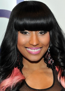 Nicki Minaj Two-Tone Eye Makeup