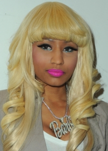 Nicki Minaj Acid Green Eye Makeup