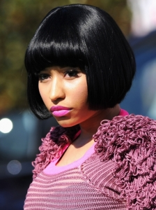 Nicki Minaj Black Bob 2011 BET Awards