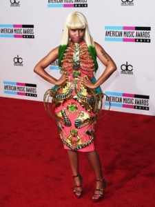 Nicki Minaj in Manish Marora