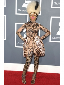 Nicki Minaj in Givenchy Couture