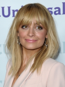 Nicole Richie Shoulder-length Hair with Bangs