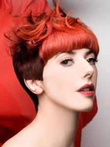 Gorgeous Red Hair Coloring Idea