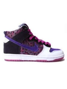 Nike 6.0 Dunk High Animal Print Sneakers