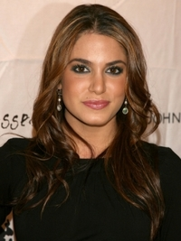 Nikki Reed's Long Wavy Hairstyle