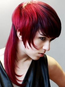 Fiery Red Hair Color Idea