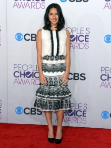 Olivia Munn's Dress at 2013 People's Choice Awards