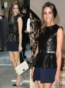 Olivia Palermo in Christian Dior Resort 2013