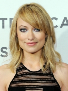 Olivia Wilde Shoulder Length Hair with Bangs