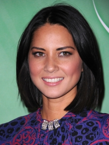 Olivia Munn Sleek Bob Hairstyle