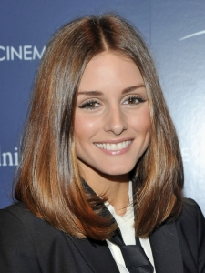 Olivia Palermo Smooth Bob Hairstyle