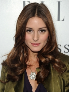 Olivia Palermo Brown Curly Hairstyle