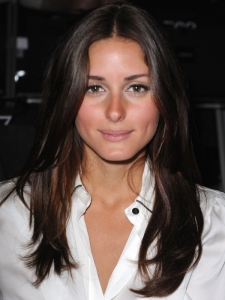 Olivia Palermo Smooth Brunette Hairstyle