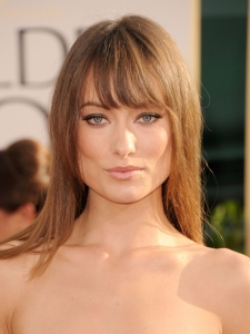 Olivia Wilde Hairstyle at Golden Globes 2011