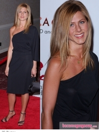 Jennifer Aniston One Shoulder Dress