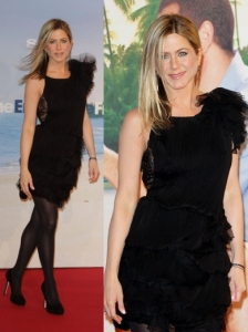Jennifer Aniston in Nina Ricci Cocktail Dress