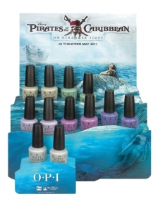 OPI Pirates of the Caribbean Collection