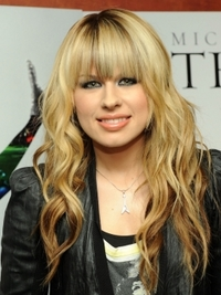 Orianthi Long Hairstyle with Bangs
