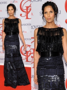 Padma Lakshmi in Naeem Khan Gown