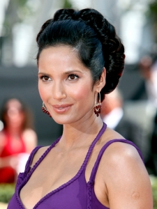Padma Lakshmi Hairstyle at the 2009 Emmy Awards