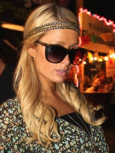 Paris Hilton Boho Chic Curls Hairstyle