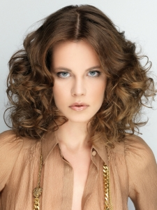 Gorgeous Big Curls Medium Hairstyle