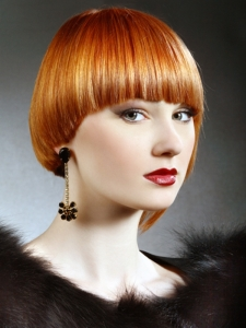 Medium Super Sleek Bob Haircut