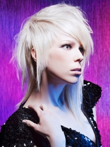 Funky Heavy Layered Long Hair Style
